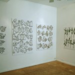 Drawings at 242 gallery 'Object expressionism' exhibition.