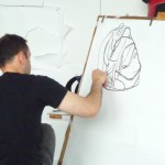 Drawing a rucksack