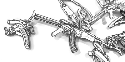 ak47 drawings cloud