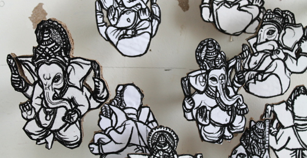 Drawings of Ganesh