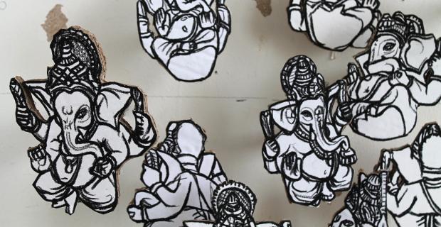 Drawings of Ganesh
