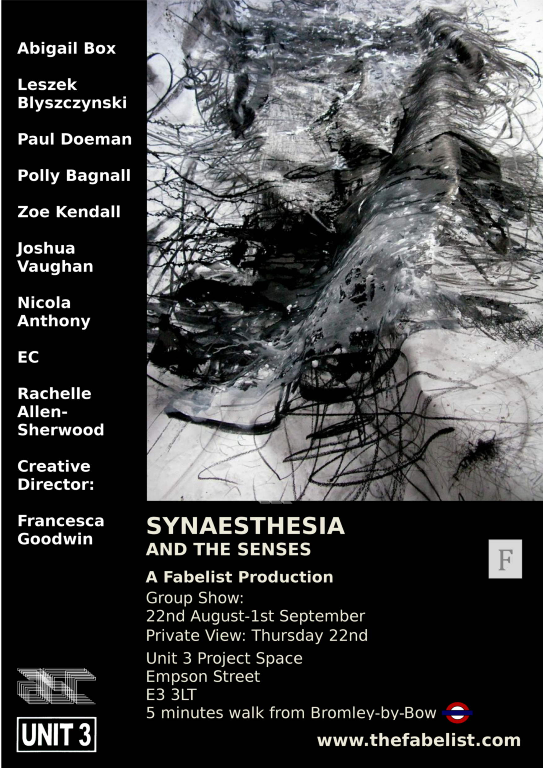 Synaesthesia group art exhibition.