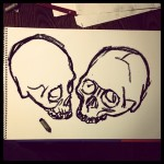 Skull drawings #drawings #drawing #skull #art  #artist