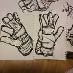 Gloves. #draw #drawing  #drawings #art #artist