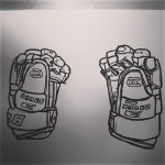 Right and left Finish ice hockey gloves. Drawn with oil pastel on paper.  #art #illustration #drawing #draw  #picture #artist #sketch #sketchbook #paper #pen #pencil #artsy #instaart #beautiful #instagood #gallery  #creative #photooftheday #instaartist #graphic #graphics #artoftheday