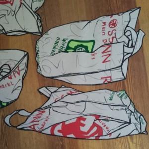 Plastic bag created in Berlin.