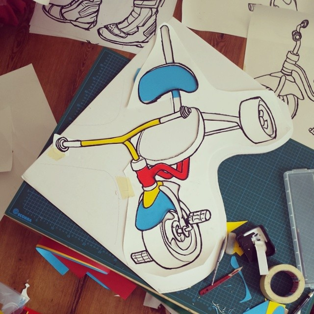 Work in progress for Berlin Tricycles.