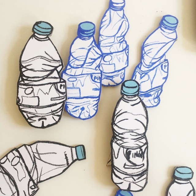 Bottle of water. Work in progress. #art #illustration #drawing #draw #picture #artist #sketch #sketchbook #paper #pen #pencil #artsy #instaart #beautiful #instagood #gallery #masterpiece #creative #photooftheday #instaartist #graphic #graphics #artoftheday