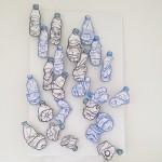 Eine flasche wasser, bitte.  Oil pastel on paper.  It's been hot in #Berlin.  Work for exhibition at Bartleby bookshop, Berlin.  #art #illustration #drawing #draw #picture #artist #sketch #sketchbook #paper #pen #pencil #artsy #instaart #beautiful #instagood #gallery #masterpiece #creative #photooftheday #instaartist #graphic #graphics #artoftheday