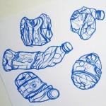 Last water bottle studies.  Oil pastel on paper.  #art #illustration #drawing #draw #picture #artist #sketch #sketchbook #paper #pen #pencil #artsy #instaart #beautiful #instagood #gallery #masterpiece #creative #photooftheday #instaartist #graphic #graphics #artoftheday #berlin #deutchland #bottle