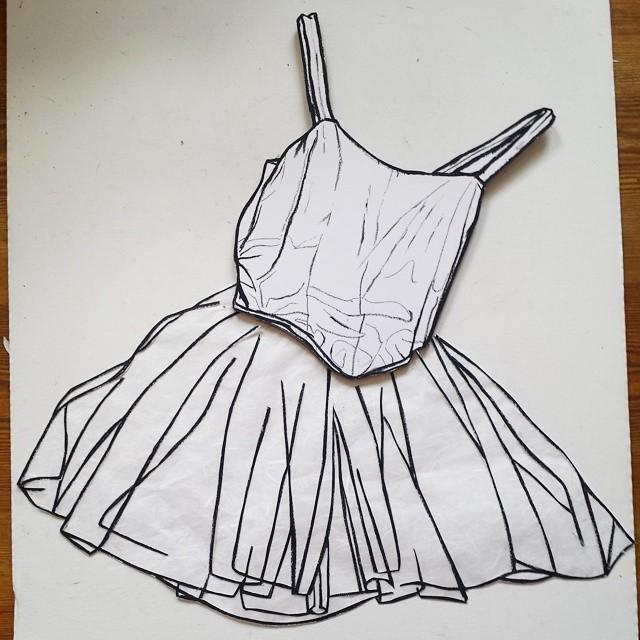 Tutu drawings | Art by Paul Doeman
