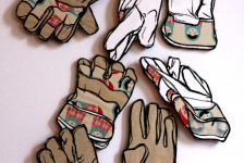 Kid gloves drawings