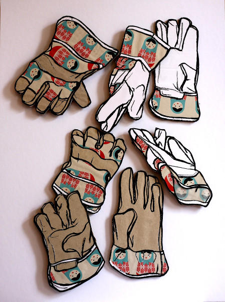 Kid gloves drawings